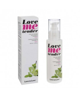 Huile Massage Love Me Tender Mojito 100ML - Love to Love