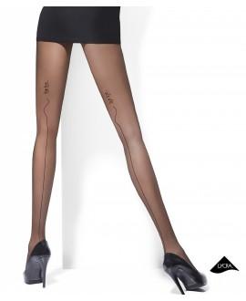 Collant Noir Couture Fantaisie - Adrian