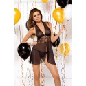 Nuisette Noire Transparence Chic - Tessoro