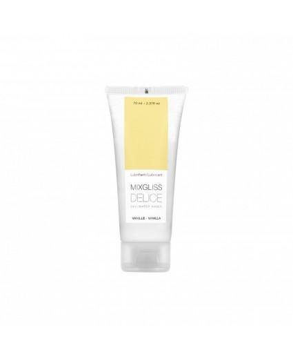 Lubrifiant Eau- Délice Vanille 70ML - Mixgliss