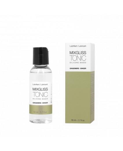 Lubrifiant Silicone - Tonic Gingembre 50ML - Mixgliss