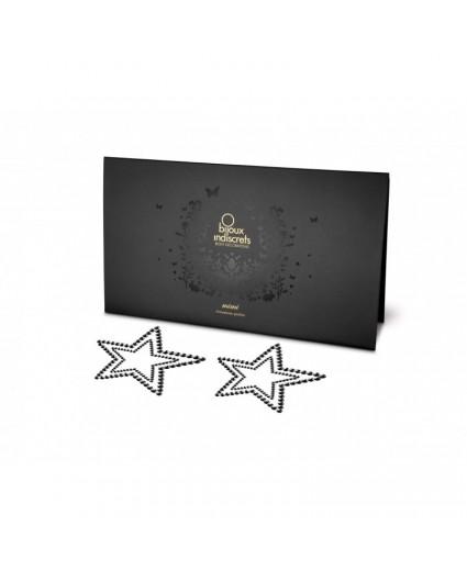 Nipples MIMI STAR - ETOILE NOIRE - Bijoux Indiscrets