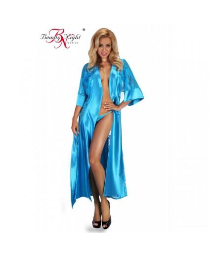 Déshabillé Fluidité Turquoise - Beauty Nignht